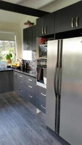 Kitchen installation. Prime Kitchens and Joinery Tasmania